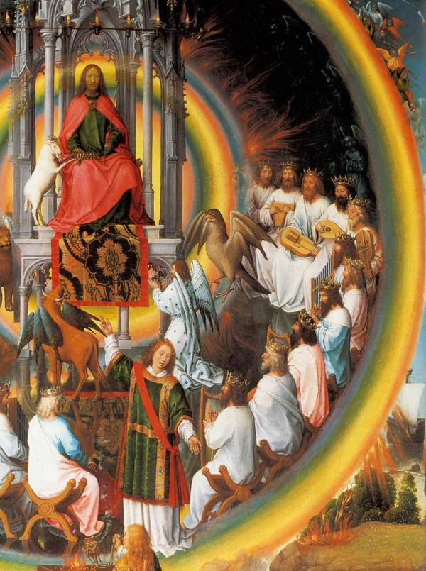 Memling, vision de la Jérusalem céleste