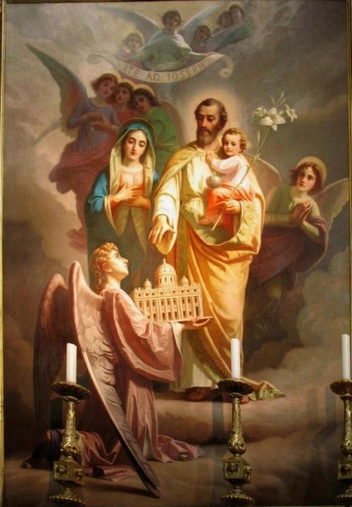 Que pensait Saint Joseph à la Présentation de Jésus au Temple?