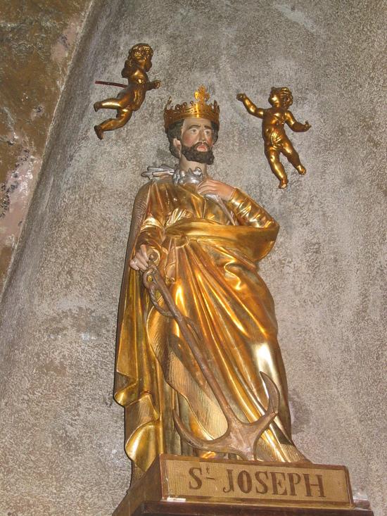 Saint Joseph de Bon Espoir, grottes troglodytes d' Espaly.