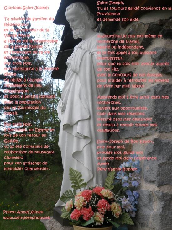 En l'honneur de Saint Joseph. 1899064-11070396