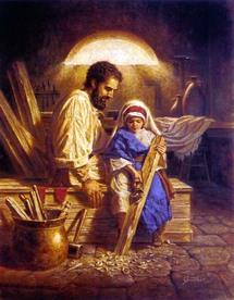 En l'honneur de Saint Joseph. 1899064-2603014
