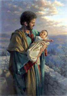 Se laisser accompagner sous le regard de Joseph.