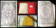 Bible éditée en Chine par B. Brueyre SJ, avec image de St Joseph