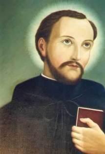 Saint Noël Chabanel, martyr au Canada, fêté le 9 décembre ( diocèse du Puy) et le 19 octobre, martyrs du Canada