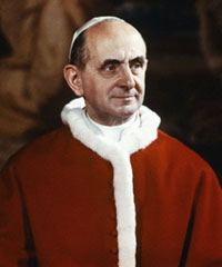 Saint Paul VI et la Croix, citations