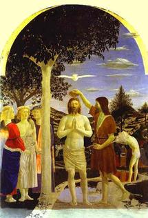 Le Baptême du Christ, Francesco de la Pierra