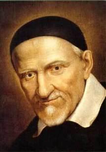 Saint Vincent de Paul, fondateur des filles de la Charité, précurseur des sociétés de vie apostoliques féminines