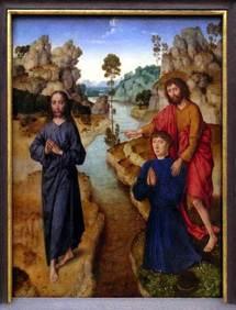 St Jean-Baptiste désignant le Christ, Pinacothèque de Munich