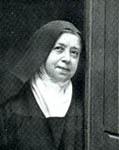 Marie, devenue soeur Marie du Sacré Coeur
