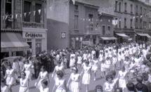 Congrès du rayon sportif féminin de Chazelle-sur-Lyon, 1964