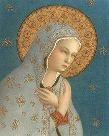 Marie, Madone de la Paix, Fra Angelico