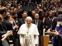 Le Pape Benoît XVI à l'ONU