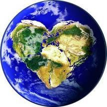 """Globe solidarité : Le livre de la nature est unique et indivisible, qu'il s'agisse de l'environnement comme de la vie, de la sexualité, du mariage, de la famille, des relations sociales, en un mot du développement humain intégral.""""  B.VXI"""