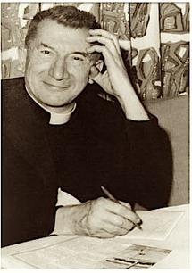 """Mgr Rodhain, fondateur d'oeuvres caritatives dont le Secours Catholique : """" nous voulons rendre au monde son âme, une âme de charité""""."""