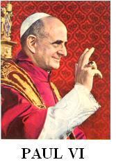 Le célibat sacré aujourd'hui, texte de Paul VI.( 1)