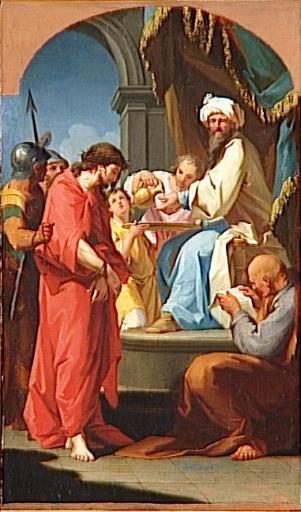 Jésus répondit: «Tu n'aurais aucun pouvoir sur moi s'il ne t'avait pas été donné d'en haut. (Jn 19-11) Jésus devant Pilate