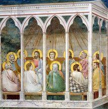 Pentecôte. Giotto