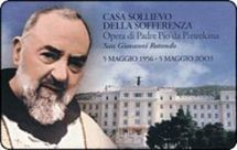 Padre Pio, un Saint, un Capucin soumis au voeu de pauvreté, un catholique social qui fonda un immense hôpital moderne dont il confia la gestion à des directeurs avisés. Un exemple du rapport catholique à l'argent, dans l'Esprit.