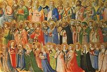Fra Angélico : communion des saints, Fra Angelico a représenté de nombreux saints fondateurs de son temps.