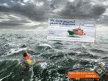Exemple d'une campagne de publicité qui appelle à la solidarité pour le service commun.