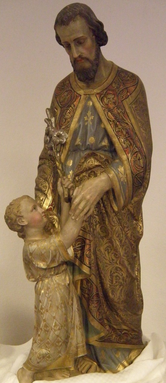 Prire  Saint Joseph, Gardien de la Porte de la Foi.