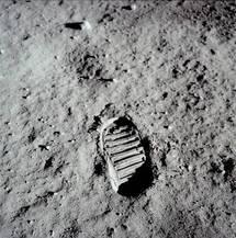 Premiers pas sur la Lune, mission Apollo 11.