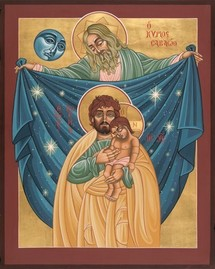 Une participation à la paternité de Dieu, Saint Joseph par Jean-Paul II.