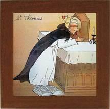 Un épisode de la vie de Saint Thomas d'Aquin : il déclara lui-même que ses écrits n'étaient que de la paille...comparé à l'Amour!