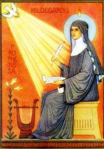 Hildegarde de Bingen, docteur de l'Eglise