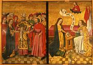 Mariage de Marie et Joseph : incarnation du Christ épousant l'humanité en prenant un corps.