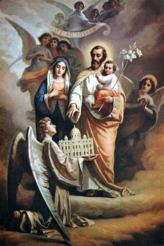 Neuvaine à Saint Joseph pour l'entrée en conclave, l'Eglise et le Pape.
