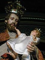 Statue dans la basilique de san Jose de Flores