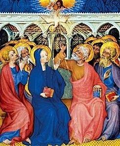 L'Eglise, le lieu du culte juste rendu à Dieu, le lieu de la Pentecôte.