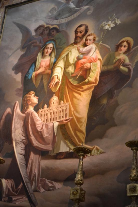Consécration du Vatican à Saint Joseph par le Pape François.