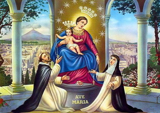 Rosaire, supplique de Notre Dame de Pompei récitée par le Pape François
