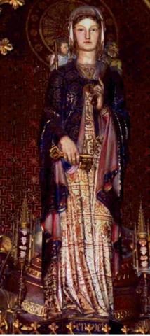Sainte Geneviève, protectrice de la cité
