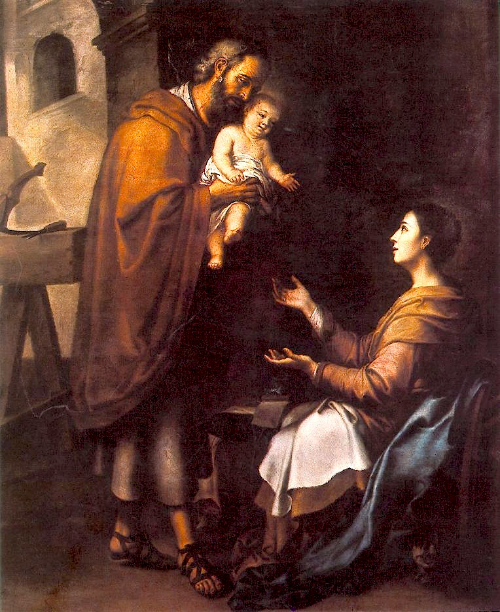 Bonne et Sainte Année 2015 avec Marie Mère de Dieu et Saint Joseph!