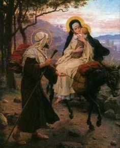 Message du pape François pour Noël : les enfants, Joseph, Marie, Jésus et les Migrants.