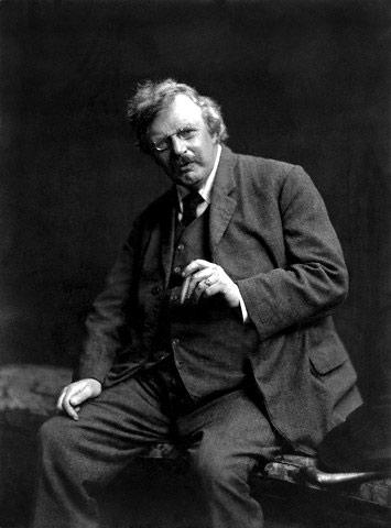 Lettre de Chesterton à l'auteur de délicieux romans qui le perturbent...