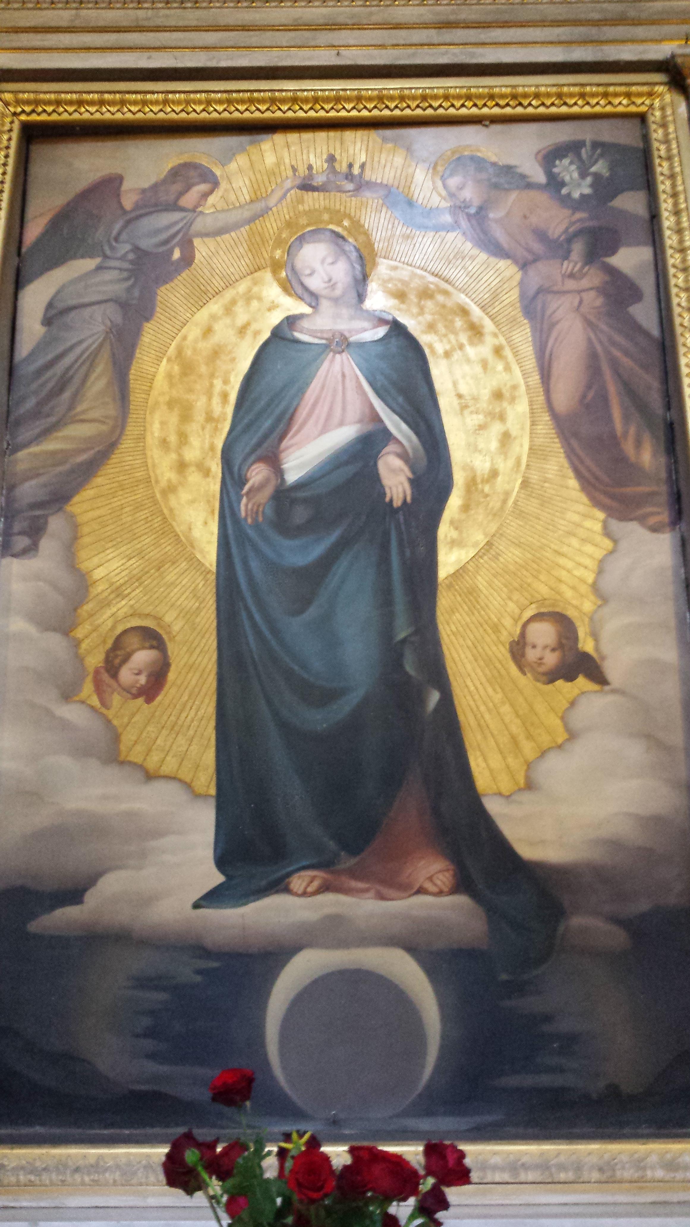 Immaculée Conception, Rome, Eglise de la Trinité des Monts