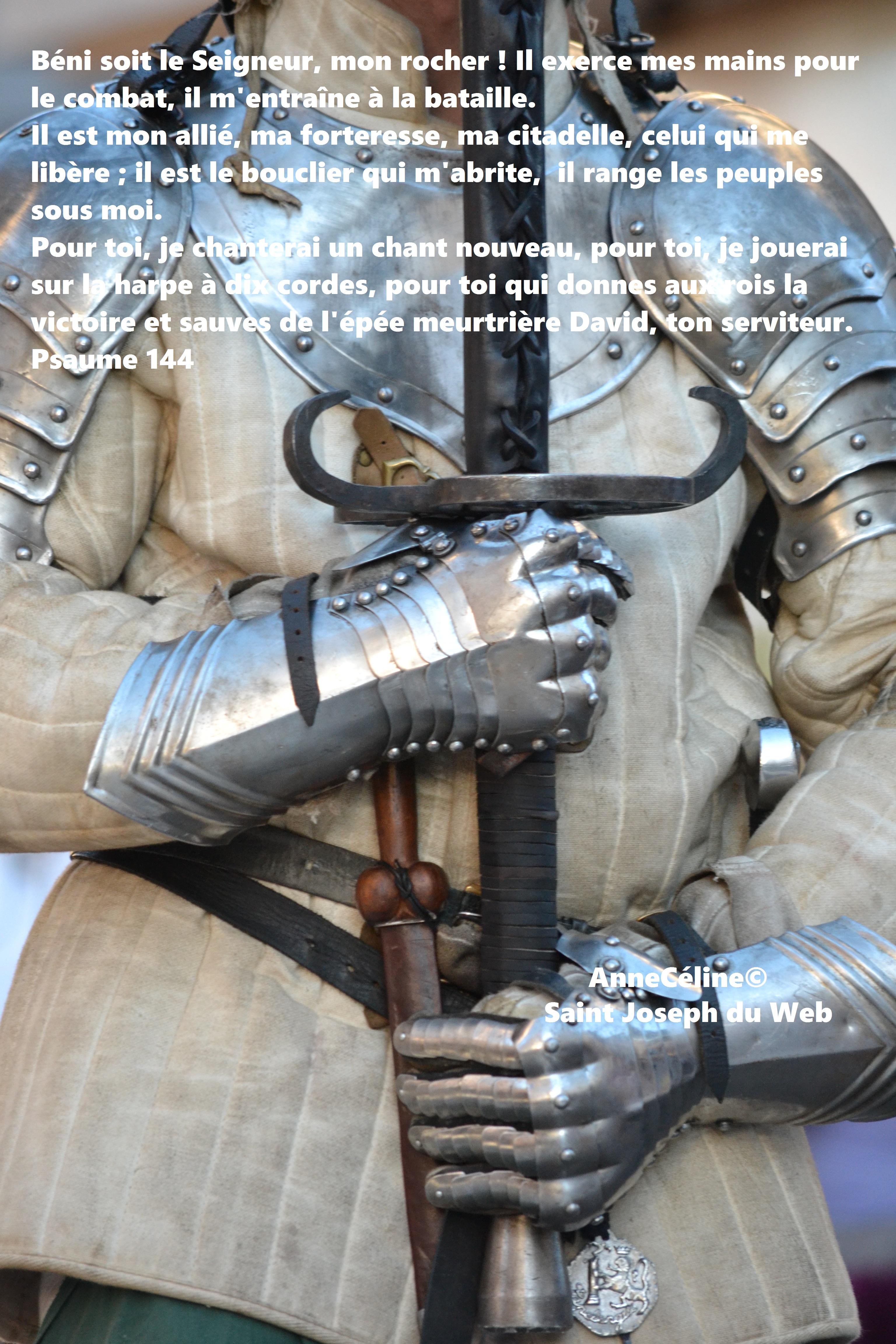 La forteresse ouverte de Joseph : il est mon allié, ma forteresse, celui qui me libère ( ps 144)