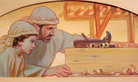 Joseph et le rabot