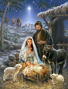 Noël, saint Joseph, un spot orienté sur Jésus