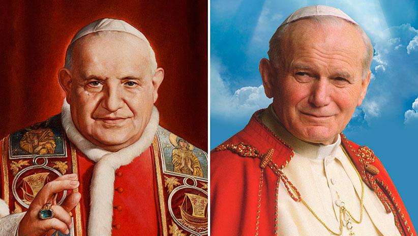 Canonisations : Jean-Paul II et Jean XXII, le bonheur d'être pasteur.