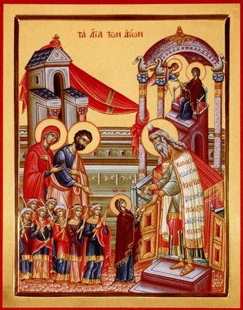 Présentation de la Vierge, Eglise et Epouse mystique