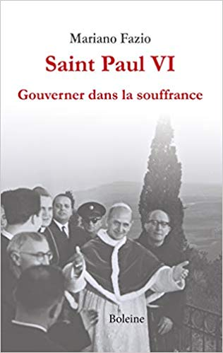 Il existe beaucoup de parallèles spirituels et médiatiques entre Paul VI et François, ce petit livre permet de comprendre la sainteté de Paul VI, et par ricochet, celle de celui qui le canonisera le 14 octobre. Livre disponible fnac, procure, decitre, etc