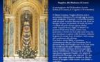 8 décembre : l'Immaculée ; 10 décembre, Notre Dame en sa maison de Lorette ; 12 décembre : la Vierge enceinte de Guadalupe, Marie, La MAISON DE DIEU