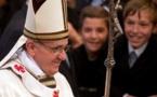"""Le pape François face à"""" l'ingénieur spirituel qui veut manipuler."""""""