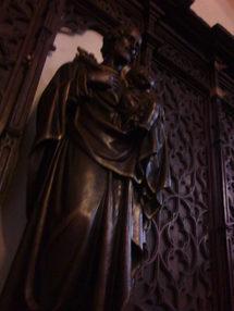 Statue de Saint Joseph, église abbatiale de Langeac