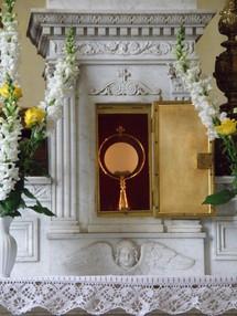Tabernacle de la Providence, adoration perpétuelle à Ars